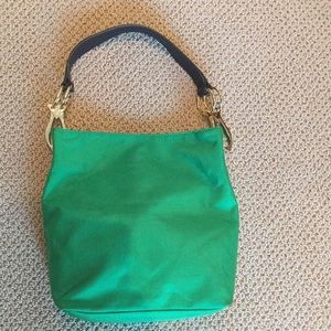 JPK Paris 75 green hobo bag like new!